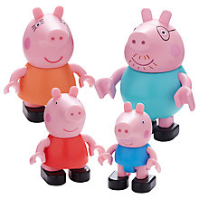Buy Peppa Pig Family Construction Set, Pack of 4 Online at johnlewis.com