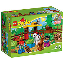 Buy LEGO DUPLO Forest Animals Online at johnlewis.com