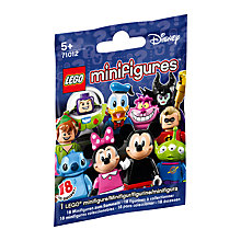 Buy LEGO Disney Minifigure, Assorted Online at johnlewis.com