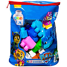Buy Paw Patrol Adventure Bay Block Set Online at johnlewis.com