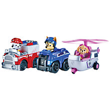 Buy Paw Patrol Racer Team, Pack of 3 Online at johnlewis.com