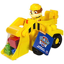 Buy Paw Patrol Rubble Bulldozer Online at johnlewis.com