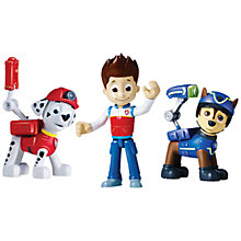 Buy Paw Patrol Racer Action Pups Pack, Pack of 3 Online at johnlewis.com