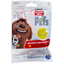 Buy The Secret Life of Pets Mini Pets, Assorted Online at johnlewis.com