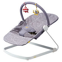 Buy BabaBing Float Baby Bouncer, Grey Online at johnlewis.com