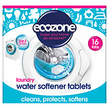 Buy Ecozone Laundry Water Softener Tablets, Pack of 16 Online at johnlewis.com