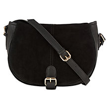 Buy Oasis Sydney Suede PU Saddle Bag Online at johnlewis.com
