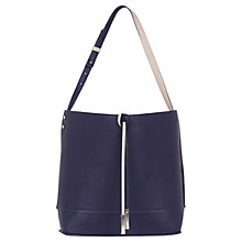 Buy Oasis Reversible Hobo Bag, Navy Online at johnlewis.com
