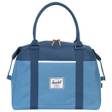Buy Herschel Supply Co. Strand Canvas Holdall, Blue Online at johnlewis.com
