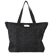 Buy Et DAY Birger et Mikkelsen Gweneth Geometric Quilt Tote Bag, Black Online at johnlewis.com