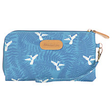 Buy Brakeburn Hummingbird Fern Large Coated Canvas Clutch Purse, Teal Online at johnlewis.com