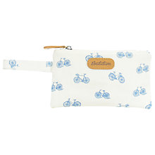 Buy Brakeburn Bikes Flat Purse, Off-White Online at johnlewis.com