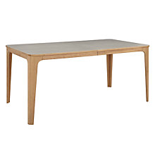Buy John Lewis Mira Ceramic Top Oak Dining Table Online at johnlewis.com
