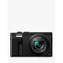 "Buy Panasonic LUMIX DMC-TZ80EB Super Zoom Digital Camera, 4K Ultra HD, 18.1MP, 30x Optical Zoom, Wi-Fi, EVF, 3"" LCD Touch Screen Online at johnlewis.com"