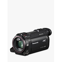 "Buy Panasonic HC-VXF990EBK 4K Ultra HD Camcorder, 8.29MP, 20x Optical Zoom, Wi-Fi, Cinema Effects & 3"" Touch Screen, Black Online at johnlewis.com"