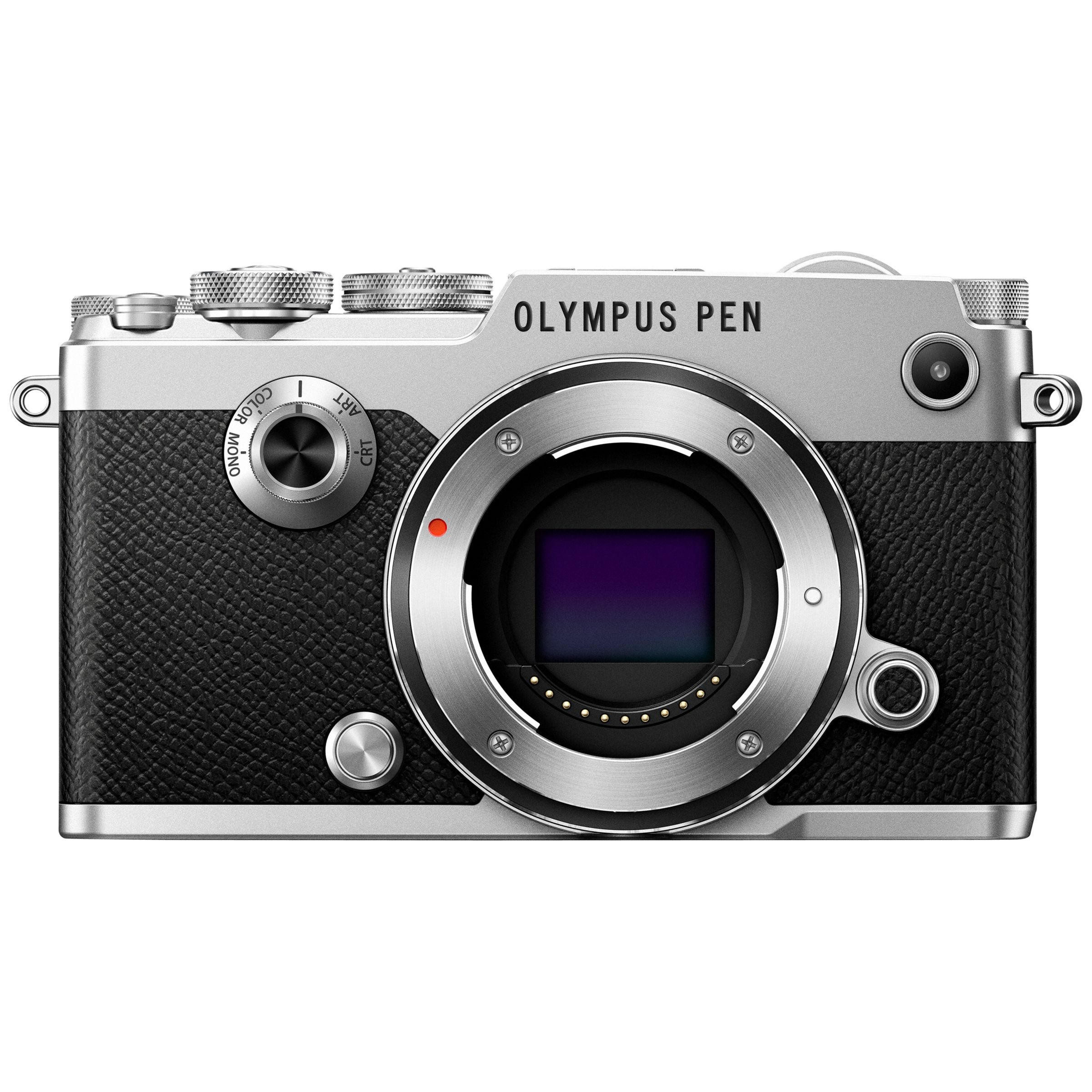 Olympus Olympus Pen F Compact System Camera, HD 1080p, 20.3MP, Wi-Fi, Front Creative Dial, 5-Axis IS, 3 Vari-Angle Touch Monitor, Body Only
