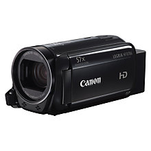 "Buy Canon LEGRIA HF R706 Camcorder, HD 1080p, 3.28MP, 57x Advanced Zoom, Optical Image Stabiliser,  3"" Touch Screen LCD Display Online at johnlewis.com"