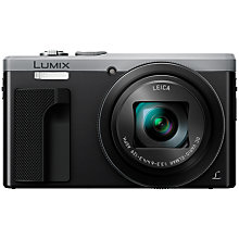 "Buy Panasonic LUMIX DMC-TZ80EB Super Zoom Digital Camera, 4K Ultra HD, 18.1MP, 30x Optical Zoom, Wi-Fi, 3"" LCD Touch Screen & Post-Focus Online at johnlewis.com"