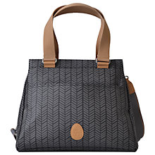Buy PacaPod Richmond Herringbone Changing Bag, Charcoal Online at johnlewis.com
