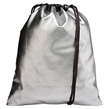 Buy Mi-Pac Pebbled Kit Bag, Silver Online at johnlewis.com