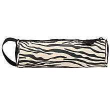 Buy Mi-Pac Zebra Print Pencil Case, Black/White Online at johnlewis.com