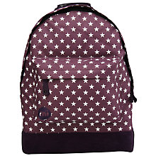 Buy Mi-Pac All Stars Backpack, Plum Online at johnlewis.com