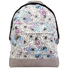 Buy Mi-Pac Unfinished Floral Backpack, Multi Online at johnlewis.com
