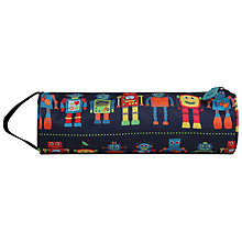 Buy Mi-Pac Robots Print Pencil Case, Navy/Multi Online at johnlewis.com