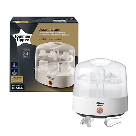 how to use a tommee tippee electric steriliser