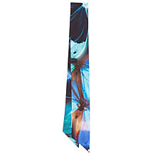Buy Ted Baker Maiti Butterfly Small Skinny Scarf, Black/Multi Online at johnlewis.com