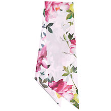 Buy Ted Baker Kayee Citrus Bloom Skinny Scarf, Nude/Pink Online at johnlewis.com
