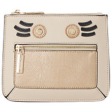 Buy Dune Kweeny Face Coin Purse, Taupe Online at johnlewis.com