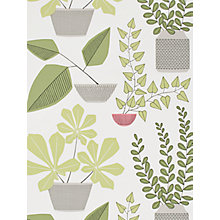 Buy MissPrint House Plants Wallpaper Online at johnlewis.com