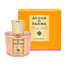 Buy Acqua di Parma Rosa Nobile Eau de Parfum Refill, 100ml Online at johnlewis.com