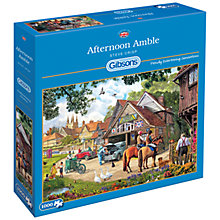 Buy Gibsons Afternoon Amble Jigsaw Puzzle, 1000 pieces Online at johnlewis.com