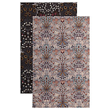Buy House of Hackney Hyacinth/Blackthorn Printed Tea Towels, Set of 2 Online at johnlewis.com