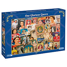 Buy Gibsons Queen's 90th Birthday Jigsaw Puzzle, 1000 Pieces Online at johnlewis.com