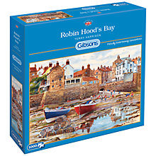 Buy Gibsons Robin Hood's Bay Jigsaw Puzzle, 1000 Pieces Online at johnlewis.com