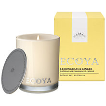 Buy Ecoya Mini Madison Jar Lemon and Ginger Candle Online at johnlewis.com