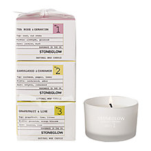Buy Stoneglow No.1/2/3 Scented Candle Gift Set Online at johnlewis.com