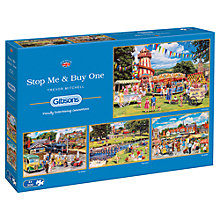 Buy Gibsons Stop Me & Buy One Jigsaw Puzzle, 4 x 500 Pieces Online at johnlewis.com