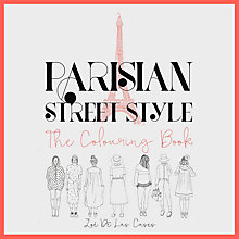 Buy Parisian Street Style The Colouring Book Online at johnlewis.com