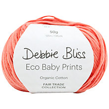 Buy Debbie Bliss Eco Baby Print 4 Ply Yarn, 50g Online at johnlewis.com