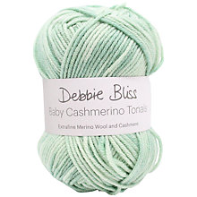 Buy Debbie Bliss Baby Cashmerino Tonals 4 Ply Yarn, 50g Online at johnlewis.com