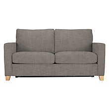 Buy John Lewis The Basics Jackson 2 Seater Sofa Bed, Light Legs Online at johnlewis.com