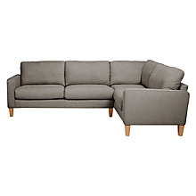 Buy John Lewis The Basics Jackson RHF Corner End Unit Online at johnlewis.com