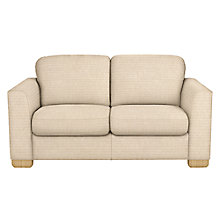 Buy John Lewis Cooper 2 Seater Sofa, Light Leg, Riley Putty Online at johnlewis.com
