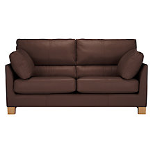 Buy John Lewis Ikon High Back Medium Leather Sofa Online at johnlewis.com
