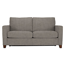 Buy John Lewis The Basics Jackson 2 Seater Sofa Bed, Dark Legs Online at johnlewis.com