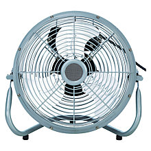 "Buy NSA'UK SFC-200B 8"" Air Circulator Fan, Silver Online at johnlewis.com"
